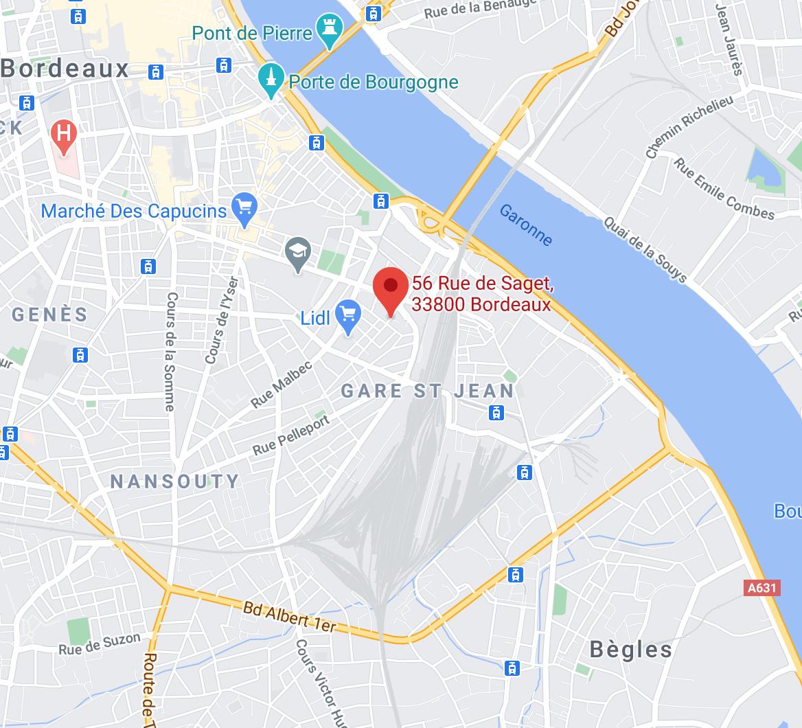 56, rue de Saget, Bordeaux 33800